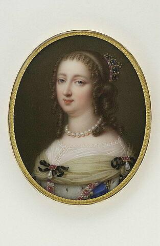 Portrait d'Anne d'Autriche d'après Pierre Mignard