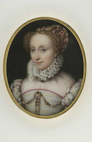 Portrait de Jeanne d'Albret, reine de Navarre (1548-1572)
