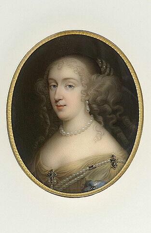 Portrait d'Anne-Marie-Louise d'Orléans, duchesse de Montpensier, dite la Grande Mademoiselle (1627-1693)