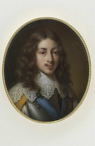 Portrait de Gaston de France, duc d''Orléans (1608-1660), deuxième fils de Henri IV, frère de Louis XIII