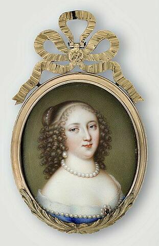 Portrait présumé de Mademoiselle de Montpensier