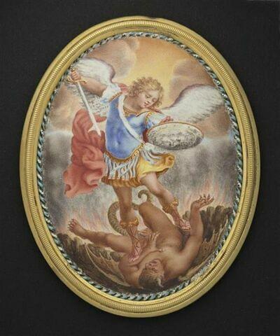 L'archange Saint Michel terrassant le démon