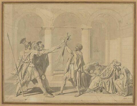 Le Serment des Horaces, d'après David