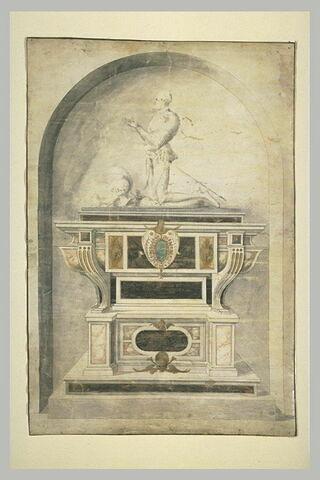 Projet pour le Tombeau de Philippe de Volvise