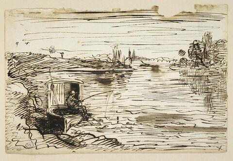 Le mousse, à la pêche à la ligne, à bord du Botin