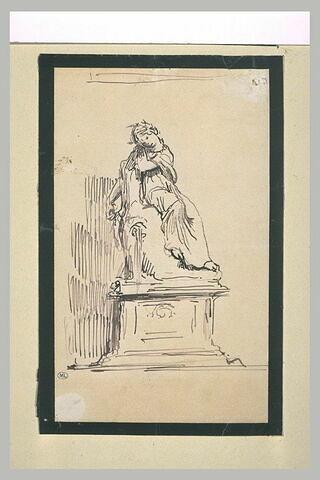 Cérès, étude pour une statue