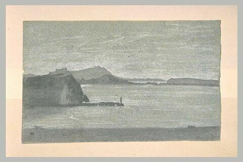 Port sur la côte italienne