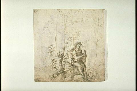 Saint Jean-Baptiste dans un paysage