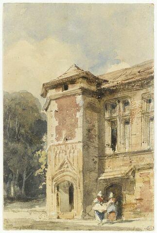 Manoir rue Sainte-Véronique à Beauvais, 1828