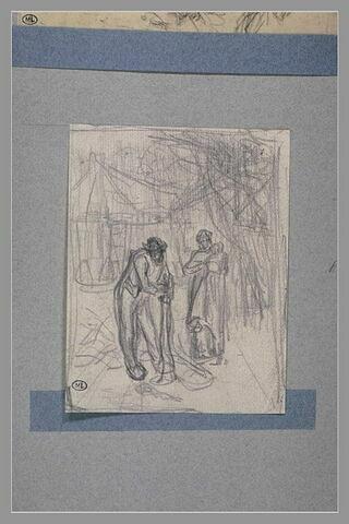 Etude pour 'Le Greffeur' de 1855