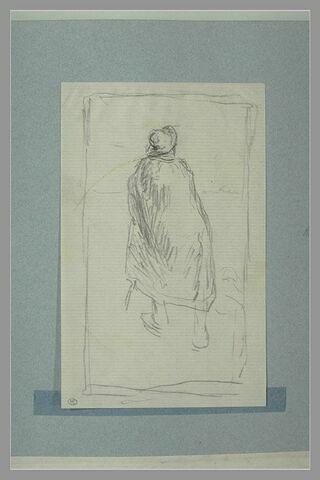 Etude pour 'Le berger et la mer' d'après La Fontaine