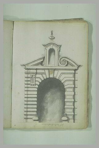 Etude d'architecture : portail