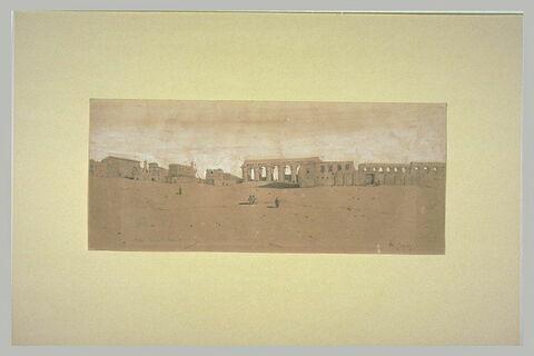 Temple de Louxor à Thèbes
