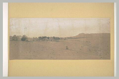 Vue de la plaine de Thèbes