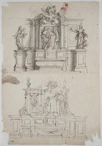 Autels et retables sculptés
