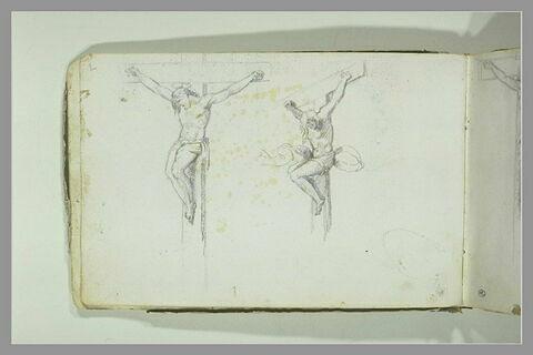 Deux études de crucifiés