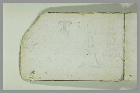 Chapiteau et base de colonnes