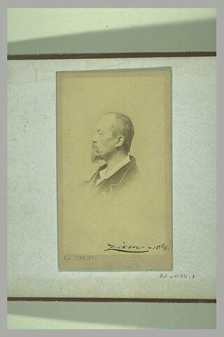Portrait de Ziem, 1865