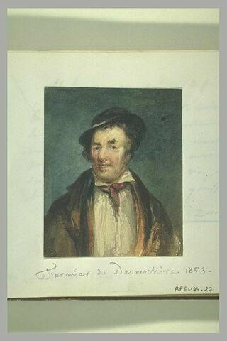 Portrait d'homme, en buste