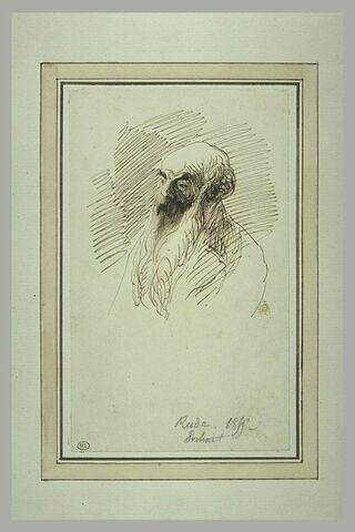 Portrait-charge de François Rude