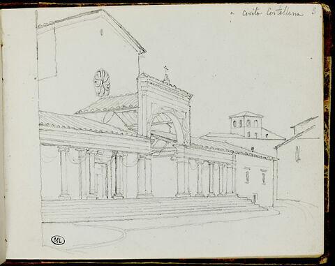 Paysage à Civita Castellana