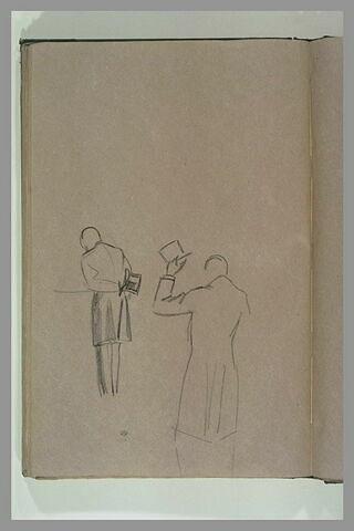 Femme assise, appuyée sur ses genoux