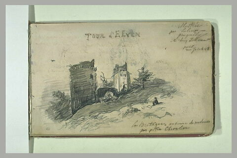 Vue de la tour d'Elyen