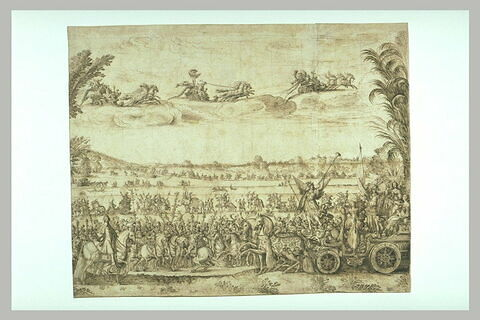 La Terre ou le Triomphe d'Anne d'Autriche