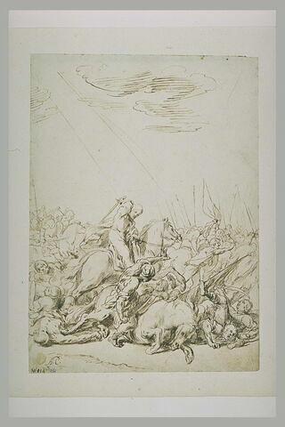 Saint Jacques matamore à la bataille de Clavijo