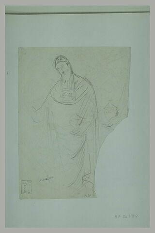 Etude pour une figure de saint Zozime