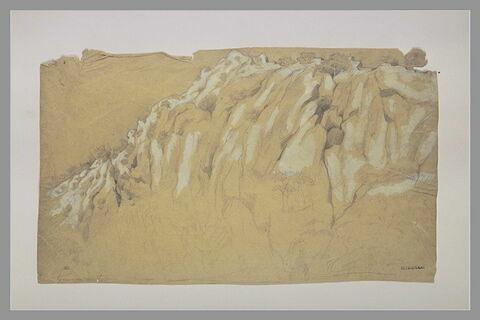 Montagne rocheuse