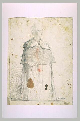 Etude pour un portrait de religieux : le père Lacordaire?