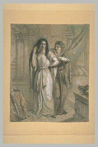 La Malibran dans le rôle de Desdémone de l'Othello