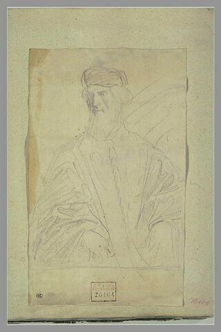 Un dignitaire vénitien, en buste