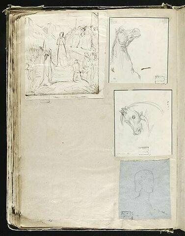 Jeanne d'Arc sur son bûcher