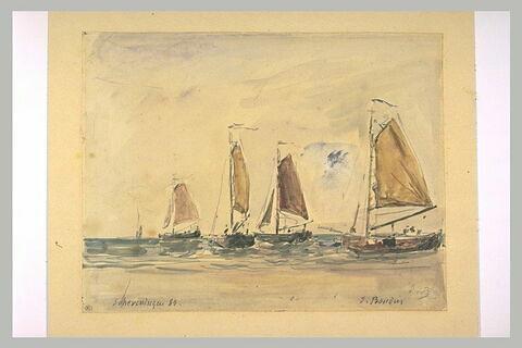 Barques à Scheveninguen