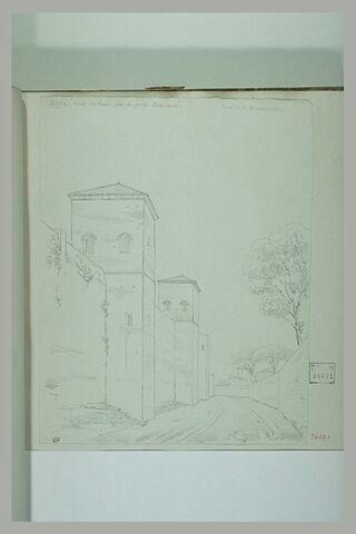 Murs de Rome près de la porte Pinciana