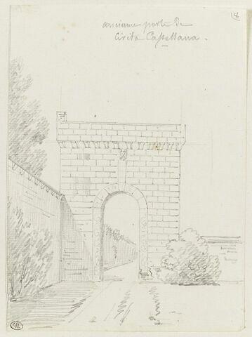 Civita Castellana : ancienne porte