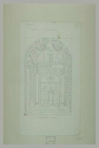 Florence : chapelle de l'église San Miniato