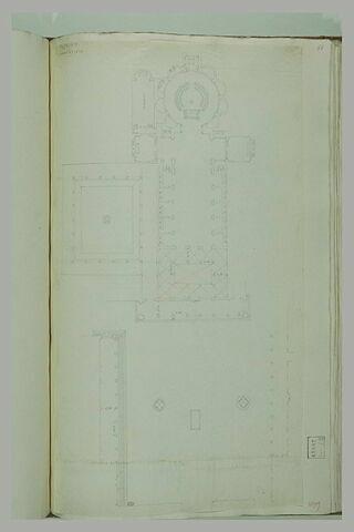 Florence : plan de l'église de l'Annunziata