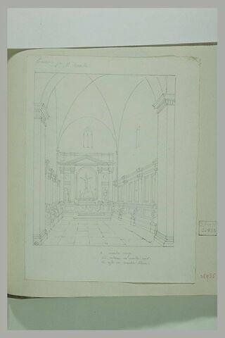 Florence : une chapelle de Santa Maria Novella