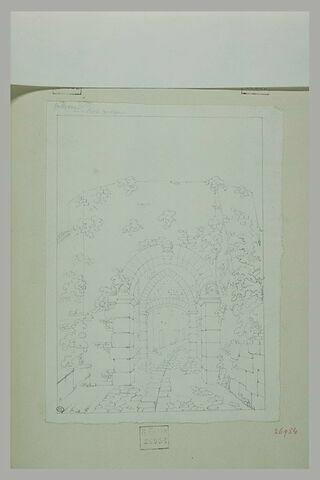 Volterra : porte antique