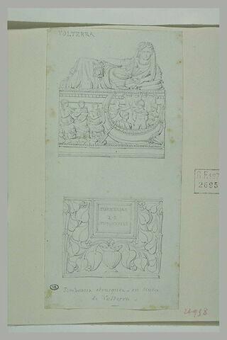 Volterra : tombeaux étrusques du musée