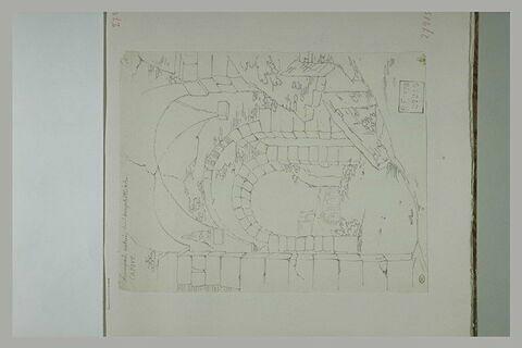 Capoue : entrée de l'amphithéatre