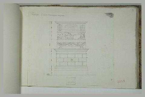 Naples : tombeau de San Domenico Maggiore