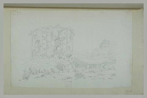 Baia : temple polygonal en ruine