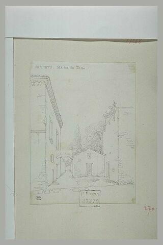 Sorrente : maison de Torquato Tasso