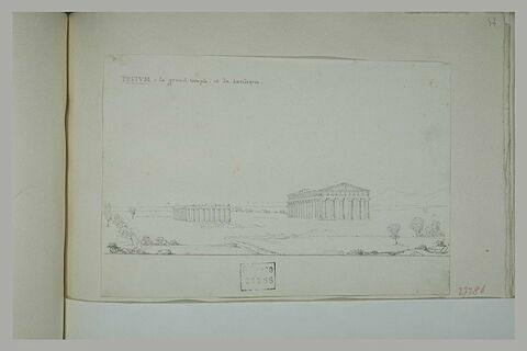 Paestum : le temple et la basilique