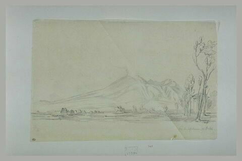 Plaine au pied d'un volcan, environs de Castellamare