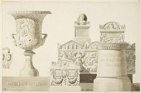 Rome : monuments du Musée du Capitole